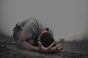 prayer facedown