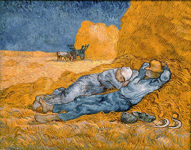 Noon,_rest_from_work_-_Van_Gogh sabbath