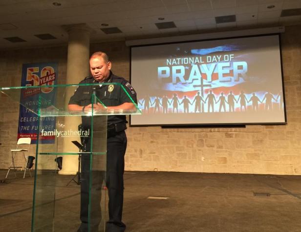 Mayor Prayer Breakfast Chief Cato